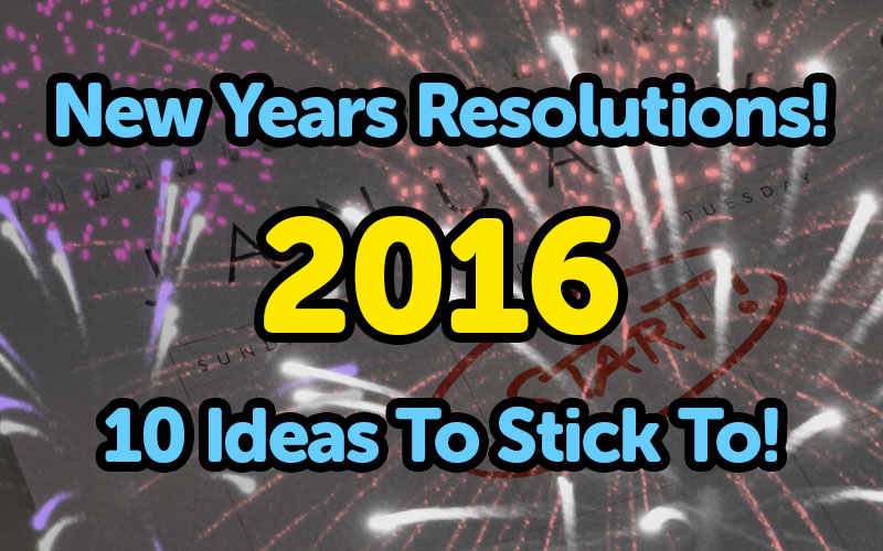 New Years Resolutions For Your Car 2016