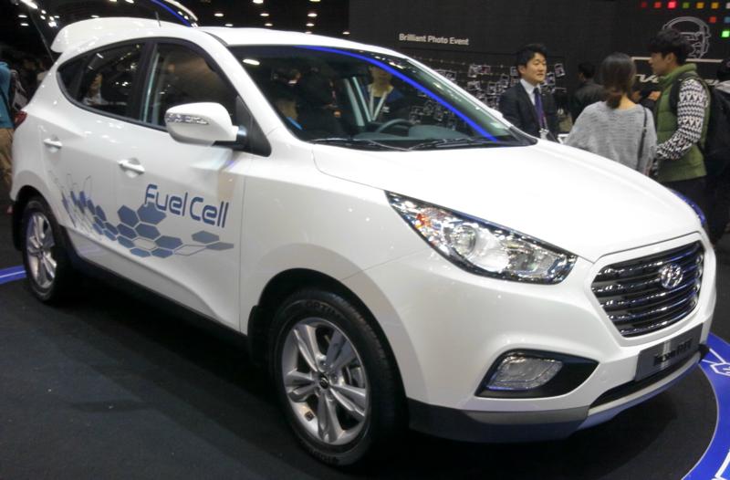 Hydrogen Cars   Hyundai ix35 courtesy of Wikipedia