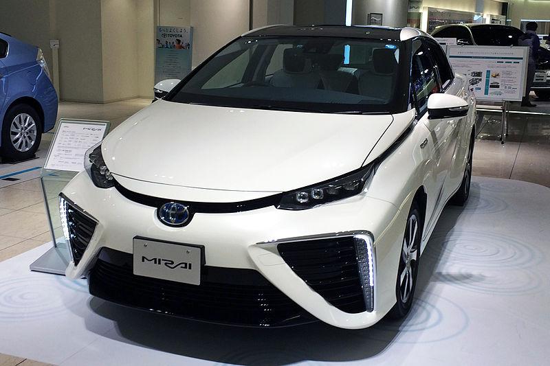 Hydrogen Car   Toyota Mirai