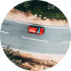 Car from above icon