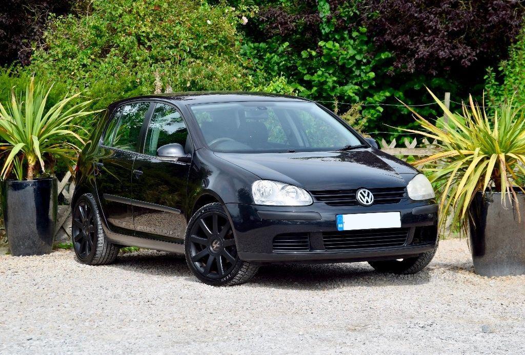 Volkswagen Golf scrap car
