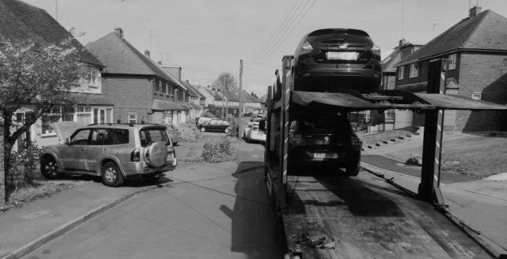 Scrap car collection in Bridgwater