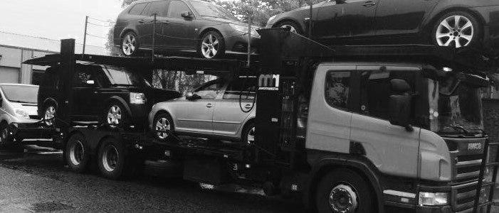 Scrap car collection in Essex
